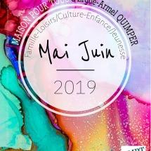 Agenda mai juin