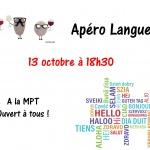 Apéro langues 131017