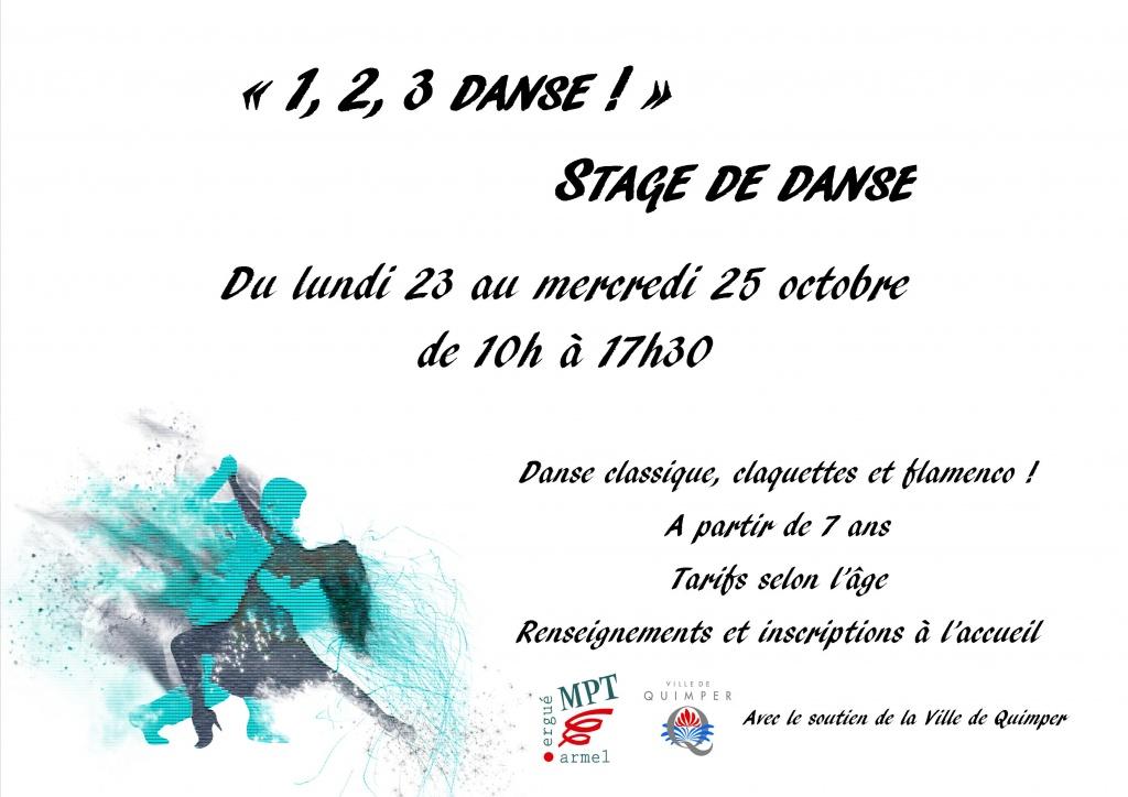 Stage de danse toussaint 2017