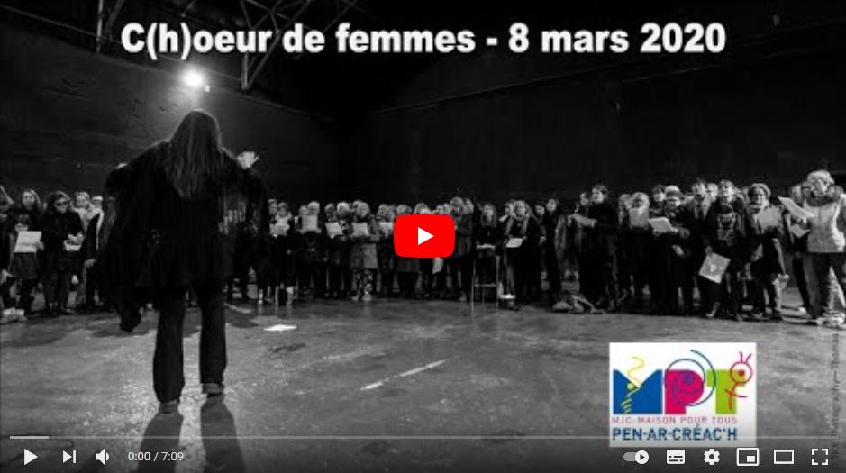 vidéo choeur de femmes 2020